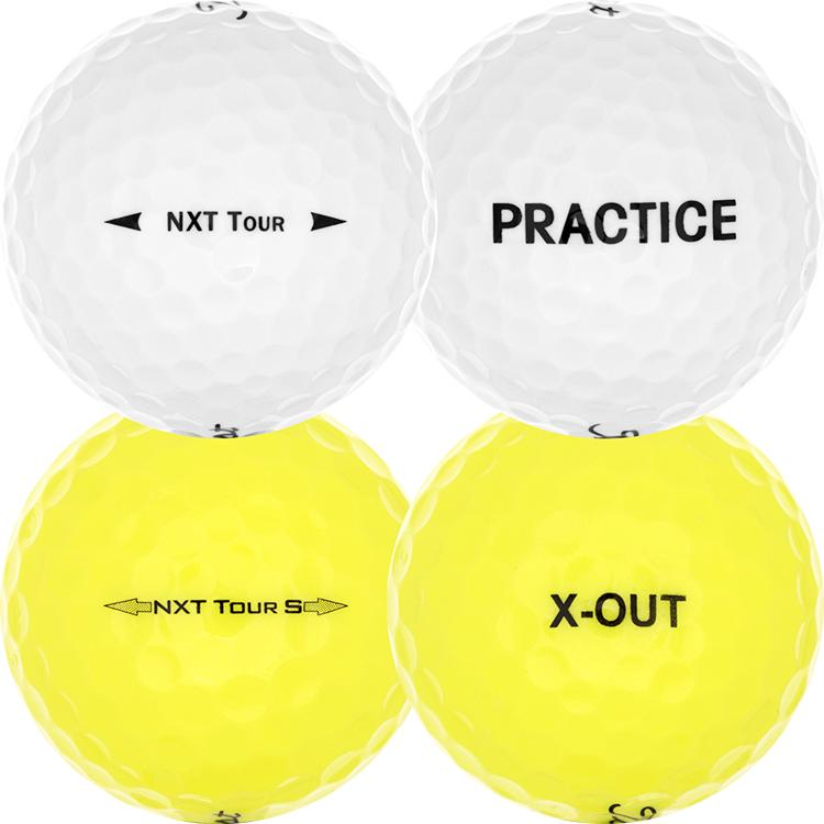 Titleist NXT Tour Practice/X-Out