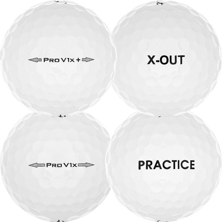 Pro V1x Practice/X-Out